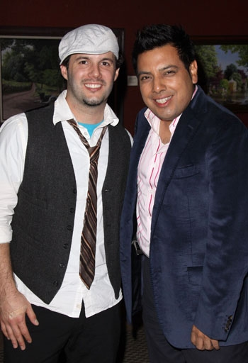 Matt Cusson and Devis Andrade at Upright Cabaret's American Icon Series at La Mirada Theatre for the Performing Arts