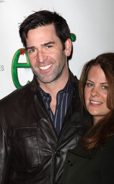 Matt Walton from the soap opera 'One Life To Live' and his wife Alecia Hurs
