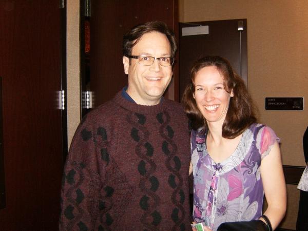 Chuck Gessert and Linda Fortunato