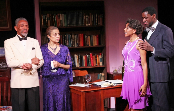 Andre De Shields, Marie Thomas, Erin Cherry and Sean Phillips