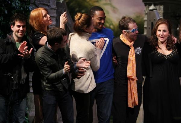 Elijah Wood, Alicia Witt, Diane Neal, Anthony Mackie, Sam Rockwell, Kathy Najimy Photo