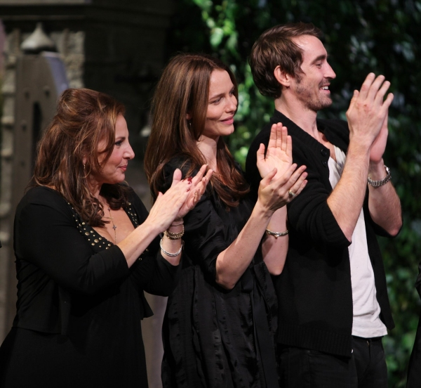 Kathy Najimy, Saffron Burrows & Lee Pace  at The 10th Annual 24 HOUR PLAYS on Broadway!