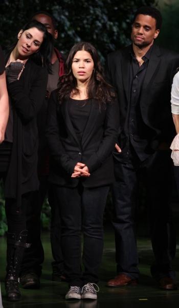 Sarah Silverman & America Ferrera & Michael Ealy  Photo