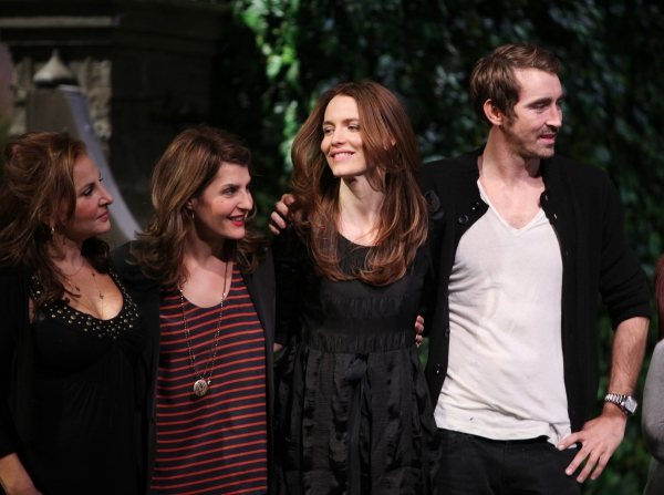 Kathy Najimy, Nia Vardolos, Saffron Burrows & Lee Pace  at The 10th Annual 24 HOUR PLAYS on Broadway!