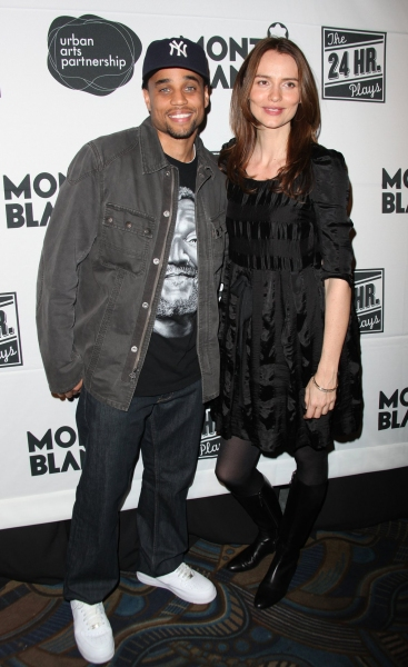 Michael Ealy & Saffron Burrows
