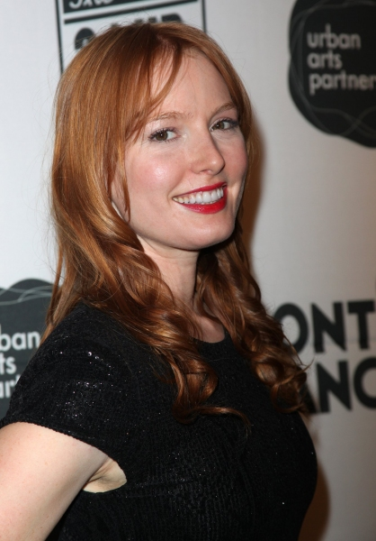 Alicia Witt at The 10th Annual 24 HOUR PLAYS on Broadway!