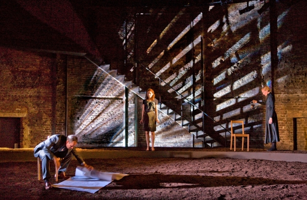 Stephen Dillane & Emma Hamilton & Anastasia Hille at Almeida Theater Presents THE MASTER BUILDER