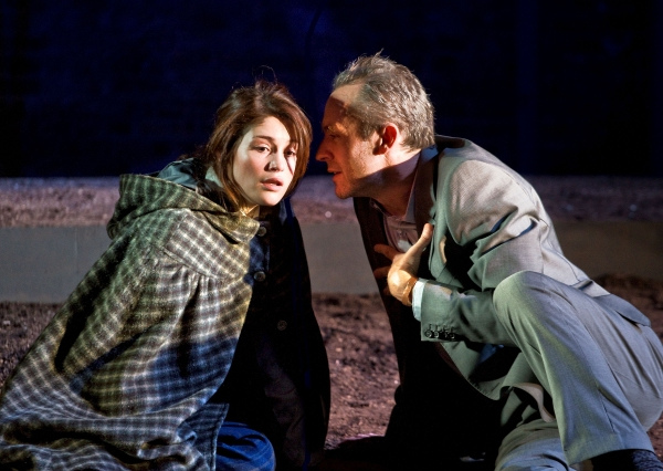 Gemma Arterton and Stephen Dillane at Almeida Theater Presents THE MASTER BUILDER