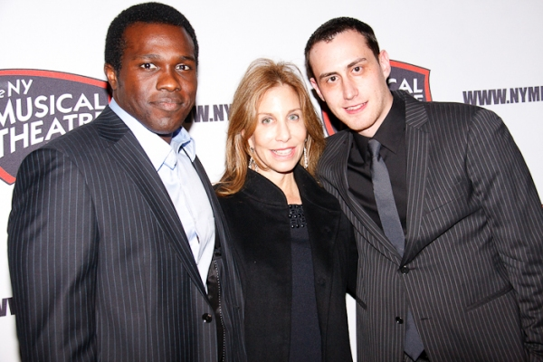 Joshua Henry, Jacki Florin, and Paul Masse