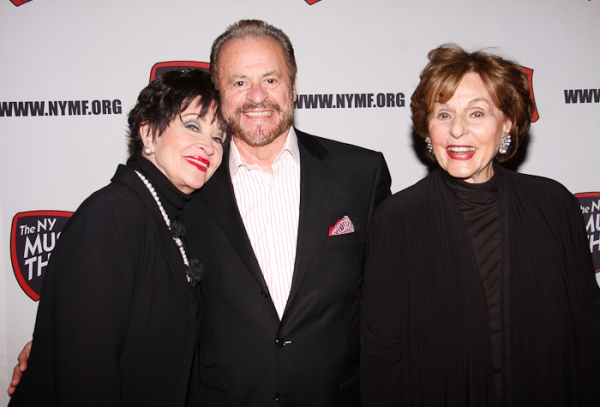 Chita Rivera, Barry Weissler, and Fran Weissler at NYMF Honors Rivera, Weisslers and 2010 NYMF Winners