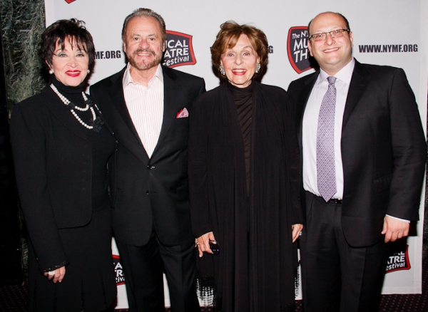 Chita Rivera, Barry Weissler and Fran Weissler