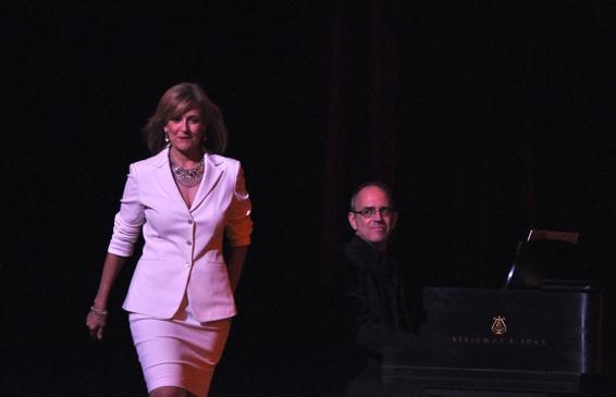 Karen Mason and Ross Patterson (Musical Director)