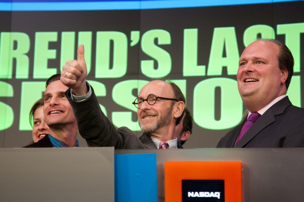 Mark H. Dold, Martin Rayner, Nasdaq VP David Wicks