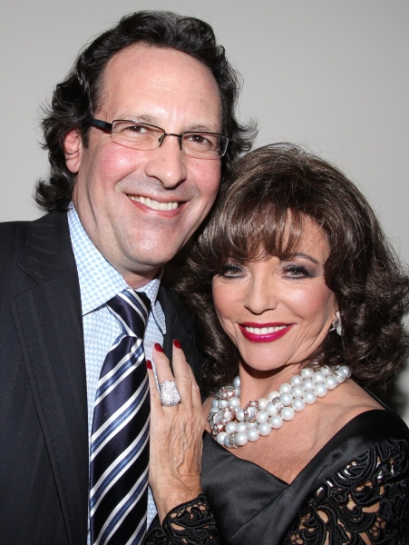 Photo Coverage:  Joan Collins Celebrates Feinstein's Opening