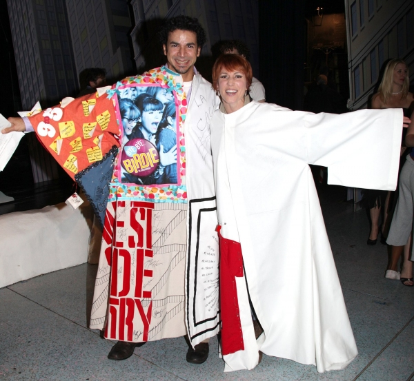 "Julio Agustin (Recipient for ""Women On A Verge..."" & Lisa Gajda (Gypsy Robe Recipient Photo"