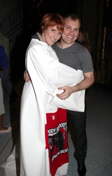 Lisa Gajda (Gypsy Robe Recipient for Elf) & Lee Wilkin Photo