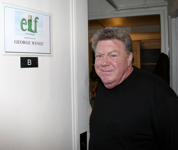 George Wendt at ELF Gypsy Robe Ceremony