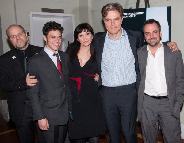 Dexter Bullard, Sam Deutsch, Mierka Girten, Michael Shannon, Craig Wright.   at MISTAKES WERE MADE at Barrow Street Theatre
