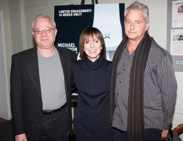 Tom Wirtshafter, Jean Doumanian, Scott Morfee at MISTAKES WERE MADE at Barrow Street Theatre