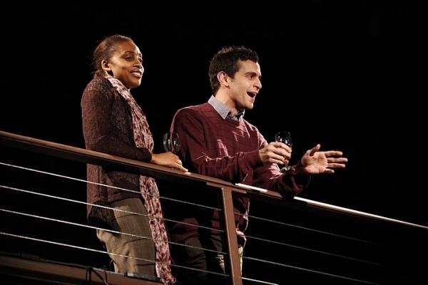 Simone Moore & Matthew Dellapina Photo