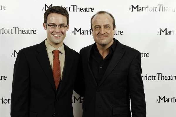 Matt Raftery and Gary Griffin at THE MUSIC MAN at Marriott Theatre