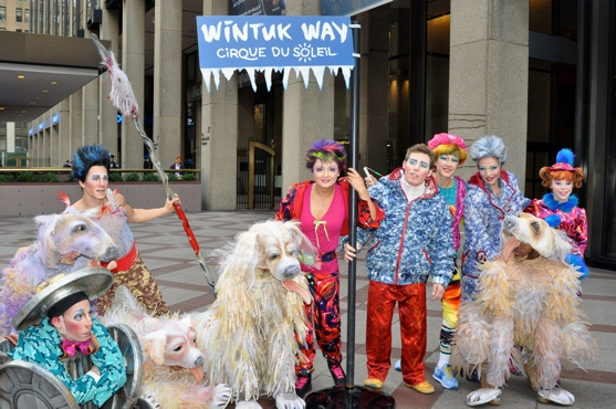 Photo Coverage: WINTUK Unveils 'WINTUK WAY' in NYC