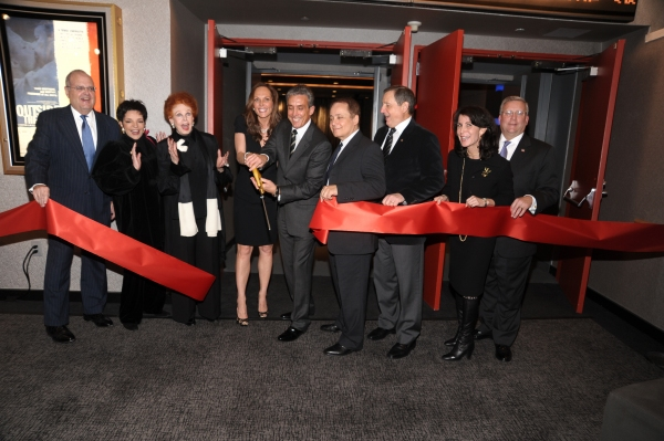 Roger Goldman, Liza Minnelli, Arlene Dahl, Clo and Charles Cohen, Theo Kalomirakis, Tom Sherak, Katherine Oliver, Mark Ackermann at Minnelli, Dahl & More Attend Lighthouse Int'l Grand Re-opening Ceremony
