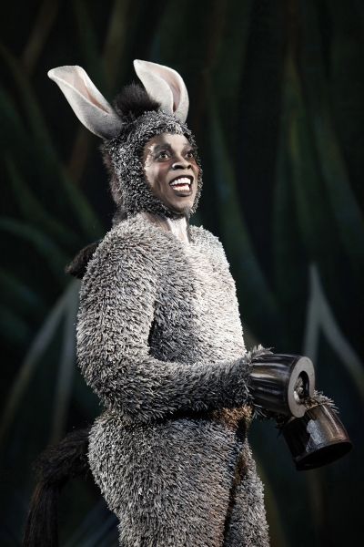 Alan Mingo, Jr. at Review:  'SHREK - The Musical'  National Tour