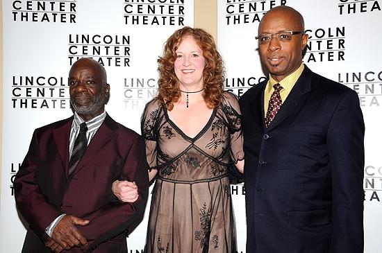 Joseph Marcell, Wendy Rich Stetson & David Emerson Toney Stetson Photo