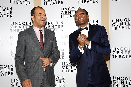 Jeffrey Wright & Mos Def at A FREE MAN OF COLOR Opening Night!
