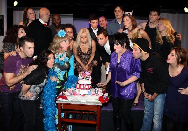 Lady Clover Honey, Daniel Robinson, Anthony J. Wilkinson, Claire Buffie & Ilene Kristen, LIZA! aka Jason Gozmo & the cast
