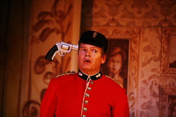 Photo Flash: The Invisible Man Plays Menier Chocolate Factory