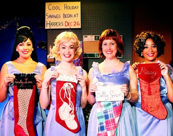 Anna Starnes (Cindy Lou), Aly Whepplo (Suzy), Georgia Rogers Farmer (Betty Jean), Katrinah Lewis