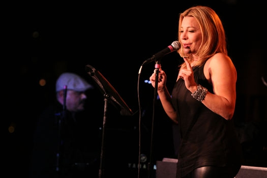 Walter Afanasieff & Taylor Dayne perform at Upright Cabaret's 'It Gets Better' concert at Upright Cabaret's 'IT GETS BETTER: THE CONCERT' feat. Dayne, Davis, Warren, Cason, Whitaker and more!