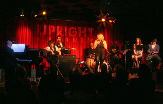 "Walter Afanasieff, Jake Simpson, Taylor Dayne, Matt Cusson & Laura Dickinson perform at Upright Cabaret's ""It Gets Better"" concert"