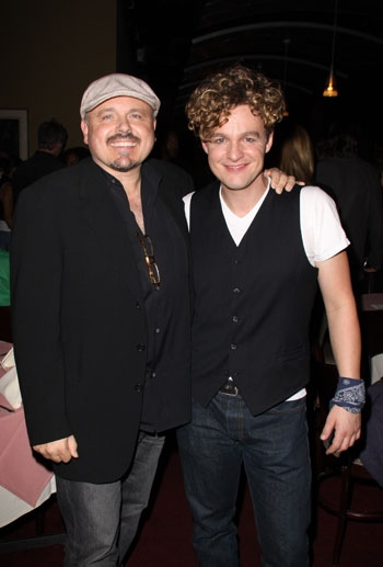 """Walter Afanasieff & Jake Simpson at Upright Cabaret's """"It Gets Better"""" concert Photo"""