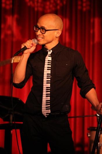"""Harlem Lee performs at Upright Cabaret's """"It Gets Better"""" concert"""