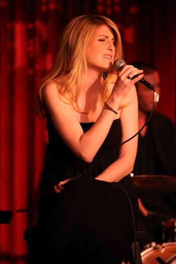 "Elizabeth Brackenbury performs at Upright Cabaret's ""It Gets Better"" concert Photo"