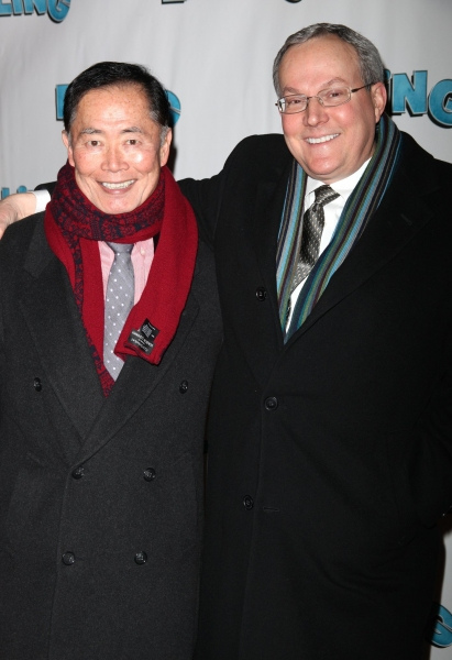 George Takei and his husband Brad Altman