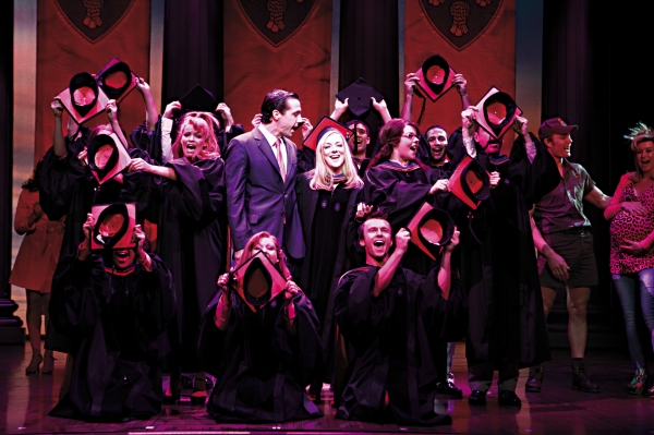 Alex Gaumond, Sheridan Smith and company at West End's Legally Blonde The Musical