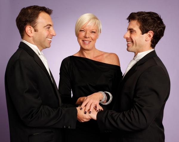 Anthony Wilkinson (left) & David Moretti with Tabatha Coffey