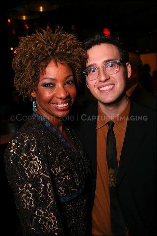 Adriane Lenox (L) and Ryder Bach