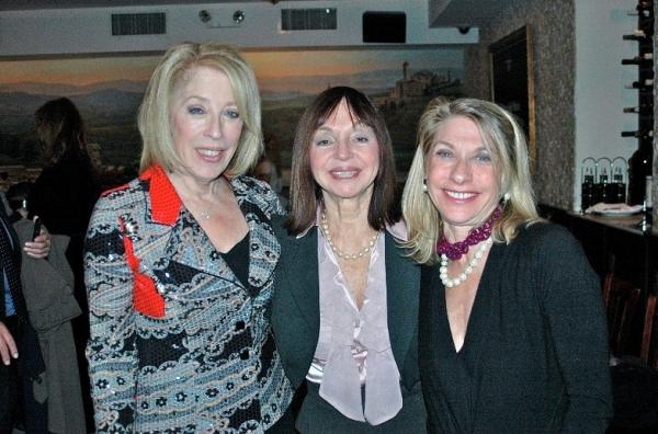 Jane Goldman, Lia Schorr and Debra Kusnetz