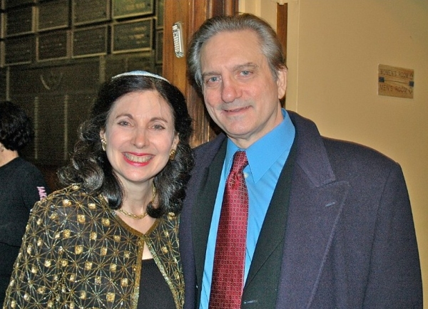 Rabbi Jill and Martin Vidnovic