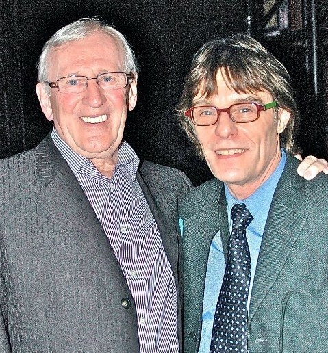 Len Cariou and Patrick Christiano at Broadway and Cabaret Community Supports Actors Temple