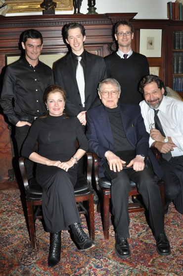 Kate Mulgrew, John Cullum, Wesley Taylor, Josh Grisetti and Gordon Cox are joined by David Staller (Producer, Editor and Director of tonights performance)