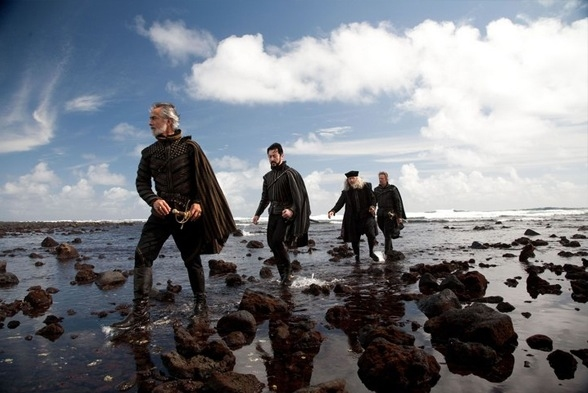 David Strathairn, Alan Cumming, Tom Conti and Chris Cooper at Julie Taymor's THE TEMPEST Photo Stills!