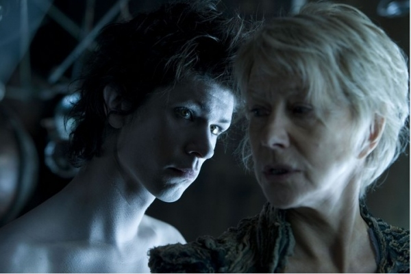 Ben Whishaw and Helen Mirren