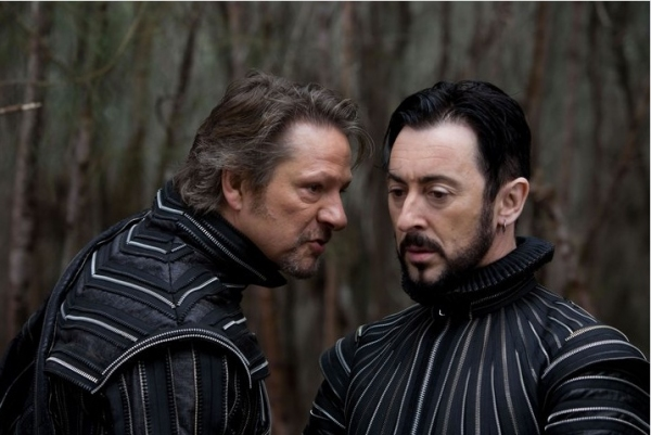Chris Cooper and Alan Cumming at Julie Taymor's THE TEMPEST Photo Stills!