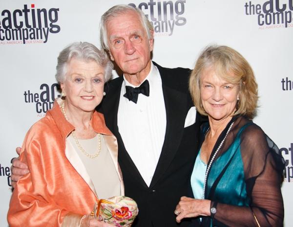 Angela Lansbury, Edgar Lansbury and Louise Lansbury